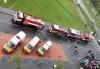 Reálná simulace první pomoci při evakuačním dni společnosti SKANSKA.